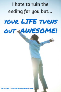 Your life turns out Awesome blog post pic